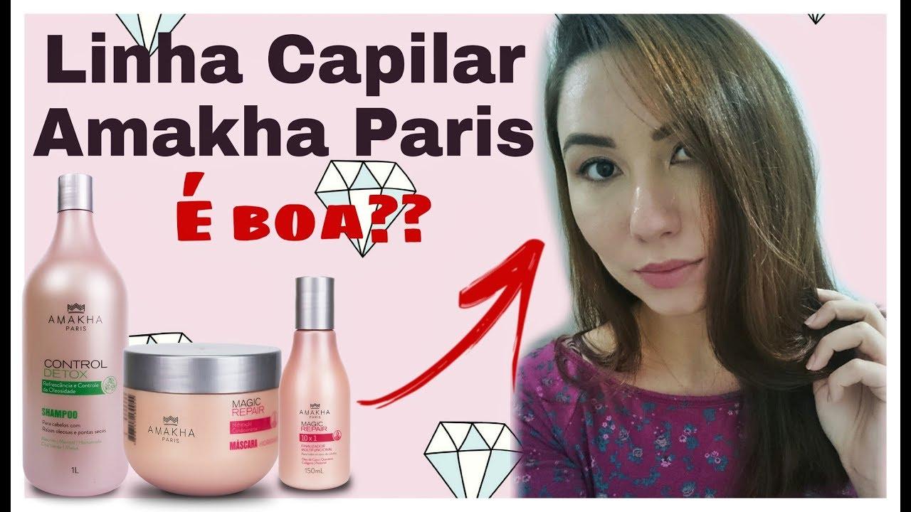 383faa10d RESENHA l LINHA CAPILAR MAGIC REPAIR DA AMAKHA PARIS - YouTube