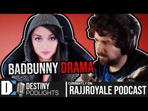 Badbunny drama, Joe Rogan & more - Destiny on the Rajj Royale podcast