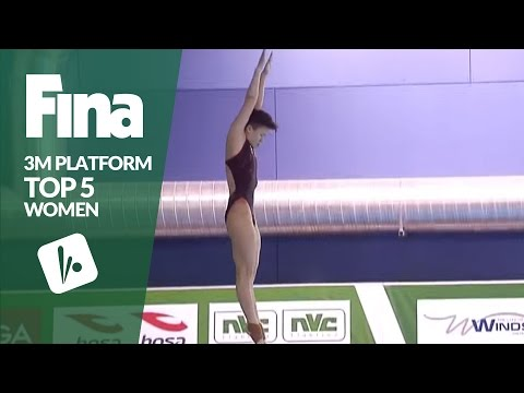 Top 5 - Women's 3m | FINA/NVC Diving World Series - Windsor 2017