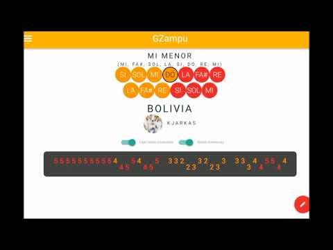 FOLKLORE BOLIVIANO - BOLIVIA | GZAMPU ♫ NOTAS MUSICALES DE ZAMPOÑA