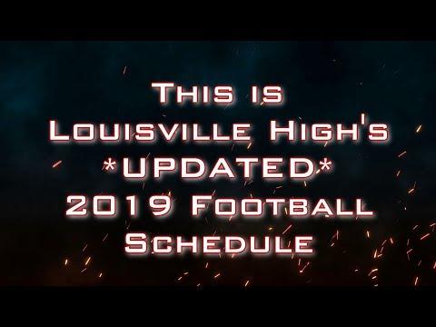2019 Louisville Wildcats Football UPDATED Schedule Reveal