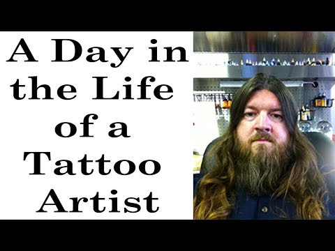 A Day in the Life of a Tattoo Artist