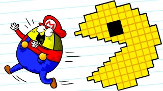 PacMan VS Vegetables - Crazy Cartoons