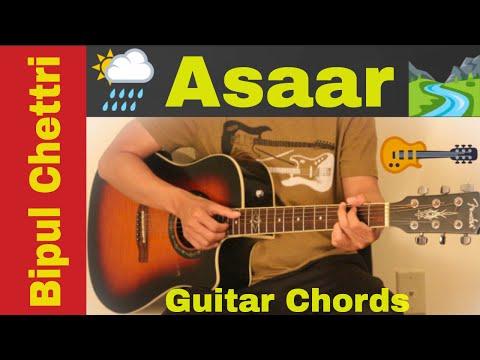 Asaar - Bipul chettri guitar chords | lesson