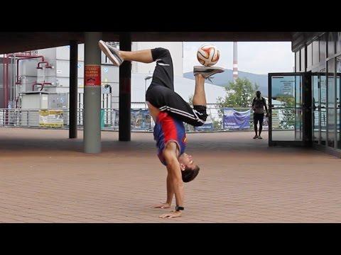 JORDAN Stall (Tutorial) :: Freestyle Football / Soccer with Maarten van Luit