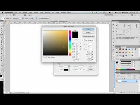 Урок Adobe Photoshop КА ШАГ. Тема: Градиент