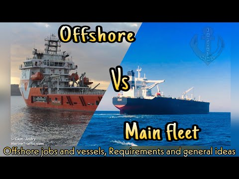 Offshore vs Mainfleet | Merchant navy jobs | Idea's about offshore vessels and jobs in India | Tamil