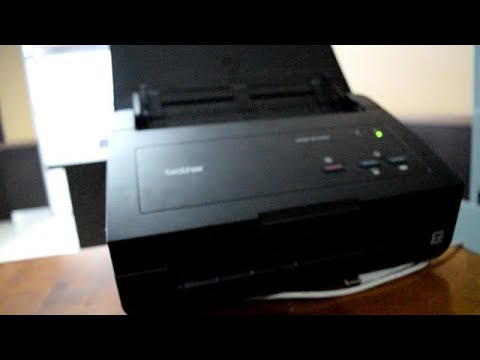 Brother ADS 2100E Review ( Scanner )