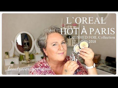 L´ORÈAL | HOT Á PARIS Crushed Foil Collection | 09.-30.April / LE | beautyoverage Astrid