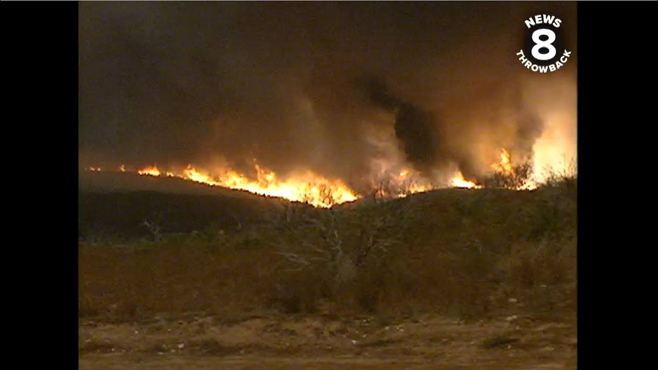 October Wildfires in San Diego: A look back at the 2003
