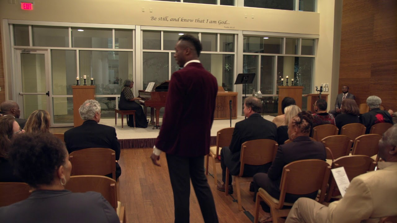 Donovan Black (tenor), Dr. Barbara Bouie (piano) - Welcome To The Dyin' Lamb , arr. Uzee Brown