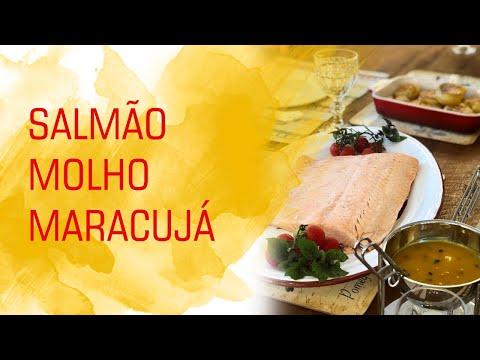 Salmão Assado ao Molho de Maracujá - Divino Minuto - Receitas Divinas from YouTube · Duration:  1 minutes 48 seconds