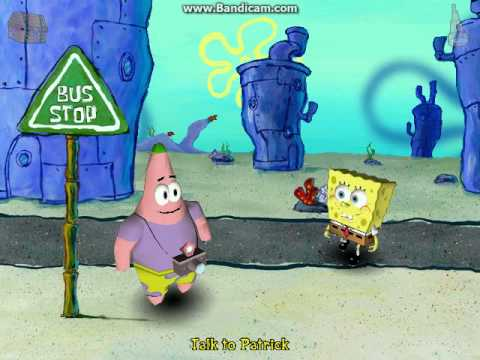 Spongebob Squarepants Employee of the Month PC Game Part 1   YouTube