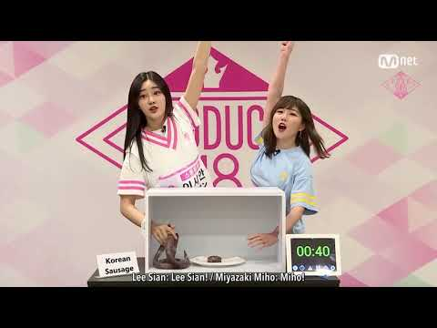 [ENG SUB] PD48 48 Special - Hidden Box Mission | Lee Sian (Stone Music) vs Miyazaki Miho (AKB48)