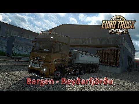 Euro Truck Simulator 2 (Bergen - Reyðarfjörðu)