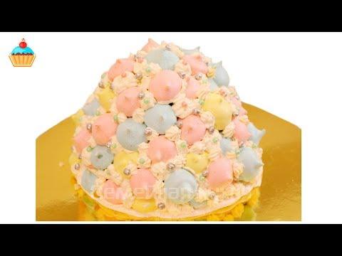 Рецепт Торт десерт Графские развалины со сгущенкой на