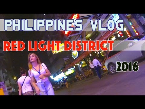 Manila Philippines Makati Red Light District P. Burgos St