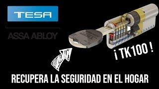 Bombin de seguridad tesa tk100 y Escudo de seguridad E700L