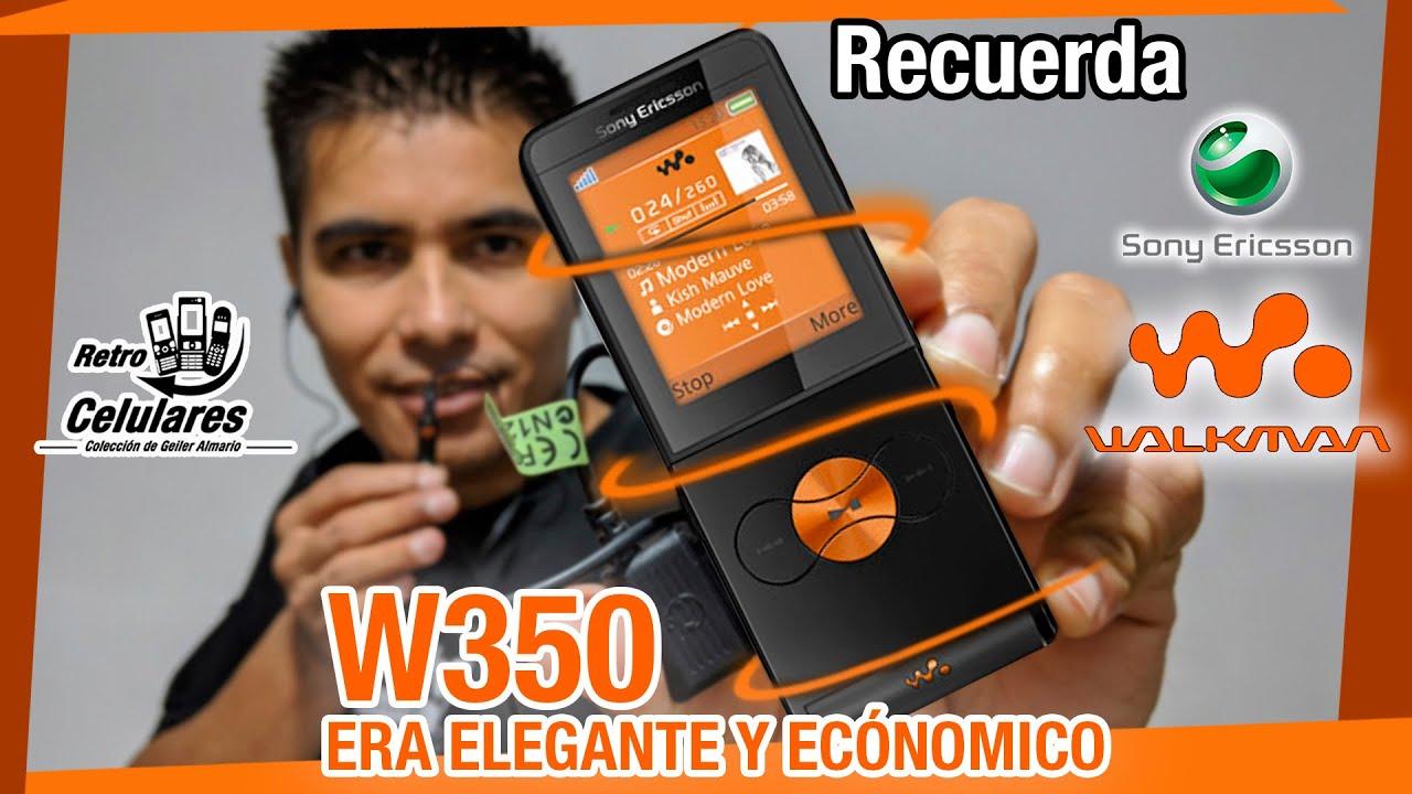 Recuerda SONY ERICSSON W350 era ELEGANTE y Económico /Retro celulares 4k