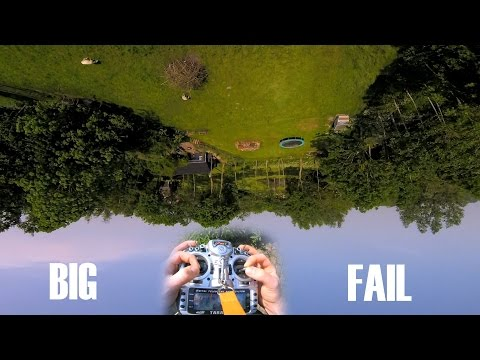 FPV Stick Tutorial || Big Fail