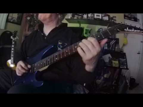 JACKSON guitar JS-12 neck ultra wizard = test sound mic & direct