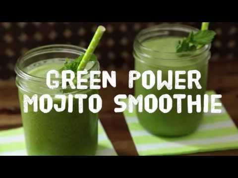 How to Make a Green Power Smoothie | Smoothie Recipes | Allrecipes.com