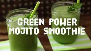 Smoothie Recipes - How To Make A Green Power Smoothie