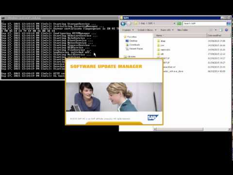 How To Launch DSUGui SAP Software Update Manager (SUM) Version 16
