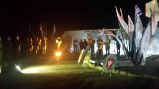 טקס הפיכת גדוד חרוב לסיירת  חרוב 22.3.2017 באנדרטת הבקעה