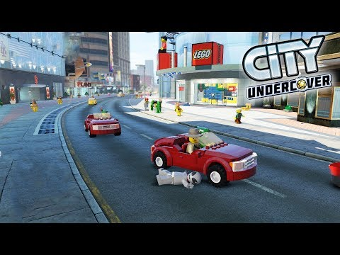 Lego City Undercover | THE BRIGHT PLAZA! | Lego City Undercover HD Gameplay 100% Part 18