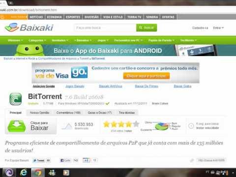 Como Usar O BT (BitTorrent)