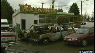 5 cars at Vancouver dealership damaged in fire