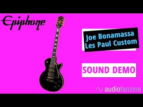 Test de l'Epiphone Les Paul Custom Black Beauty Joe Bonamassa