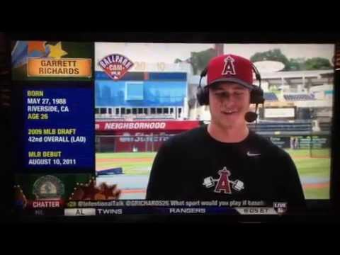 Garrett Richards Intentional Talk Interview 6/27