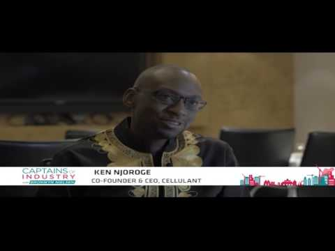 'I got into tech business by accident'- Ken Njoroge co-founder & CEO Cellulant