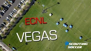 ECNL Soccer Opening League Play | Arsenal FC Travels To Vegas Heat | Scouting Soccer Vlog