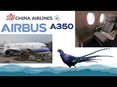 China Airlines CI915 Airbus A350 Premium Economy full flight report (Taipei to Hong Kong)