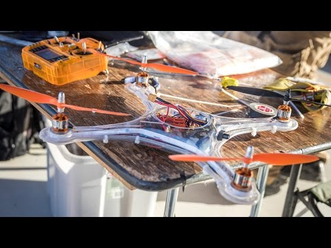 Quadcopter Combat With