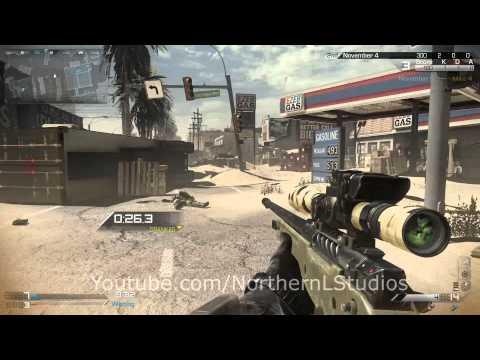 Call of Duty: Ghosts Sniper Gameplay - FaZe Kross