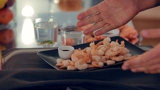 Креветки - еда живая или мёртвая?