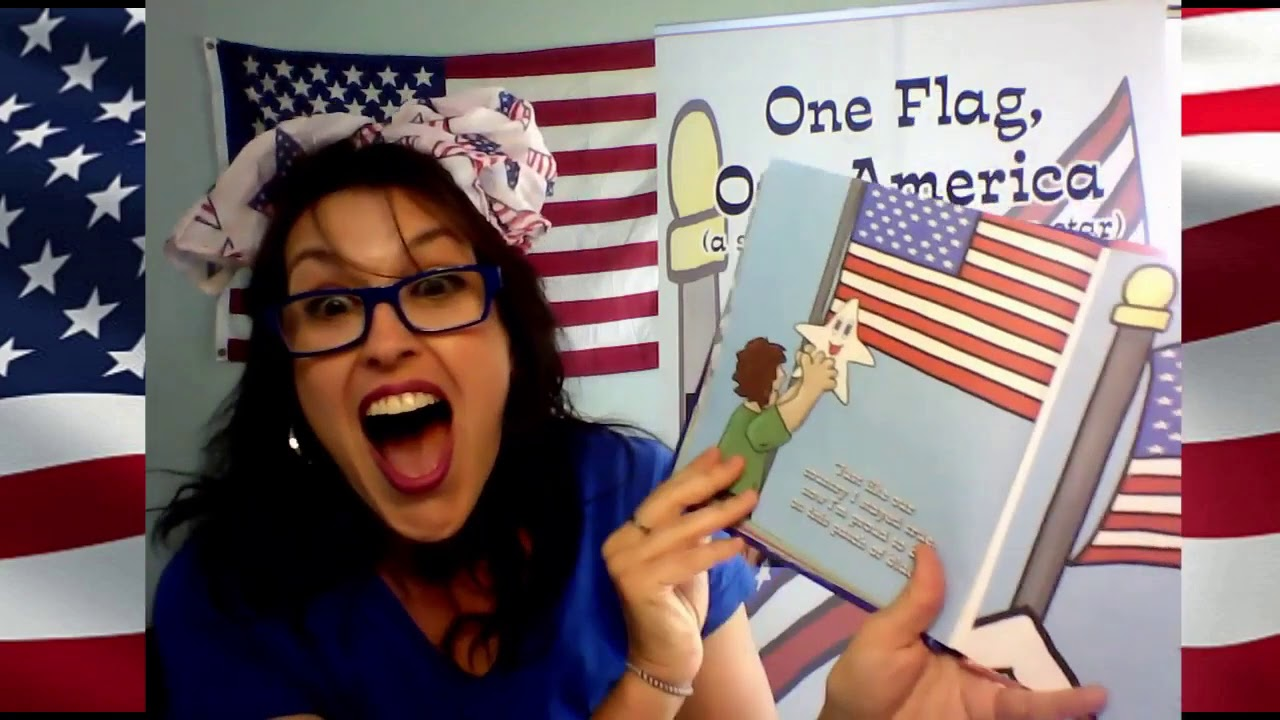 One Flag, One America: (the story of the American Star) | Children's Book Read Aloud
