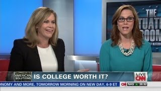 Is college worth it? Crossfire's S.E. Cupp & Ste...