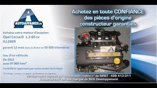 Moteur Opel Corsa D 1.2 85 cv A12XER