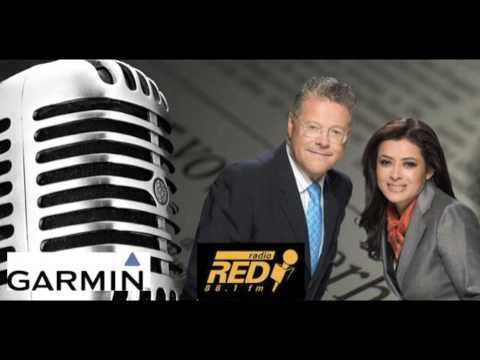 GARMIN EN RADIO RED 88.1 FM CON SERGIO SARMIENTO Y LUPITA JUÁREZ