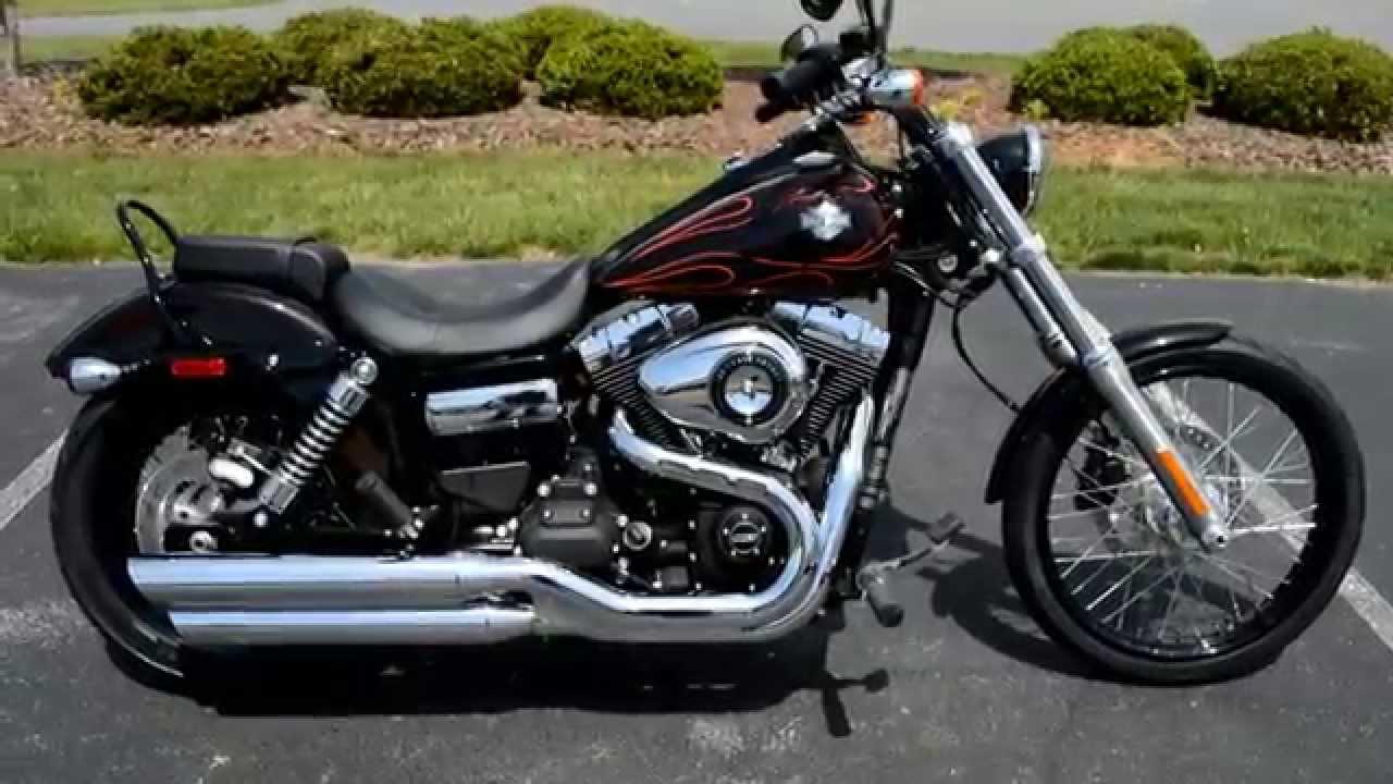 SOLD! 2014 Harley-Davidson® FXDWG - Dyna® Wide Glide® Blackened ...