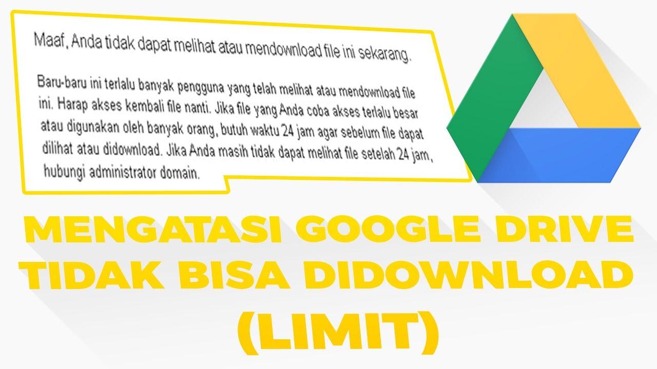 Cara Memindahkan File Google Drive Ke Akun Google Drive Lain Youtube