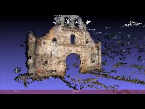 Ujarrás Church Costa Rica 3D Scan