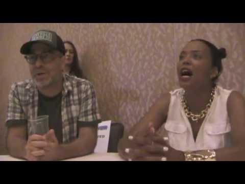 Archer - H Jon Benjamin, Aisha Tyler Interview, Season 8 (Comic Con)
