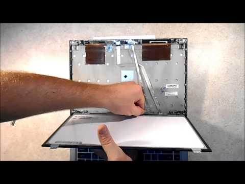 Laptop Screen Replacement / How To Replace Laptop Screen HP EliteBook 8460p Tutorial