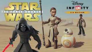 Let's Play Disney Infinity 3.0 - STAR WARS: THE FORCE AWAKENS(We're trying out the new Disney Infinity 3.0 Star Wars: The Force Awakens play set. Warning: this video game may contain SPOILERS! Return to a galaxy far, ..., 2016-01-03T19:56:41.000Z)
